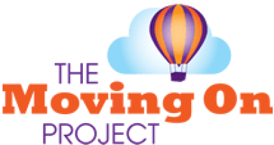 The moving on project logo